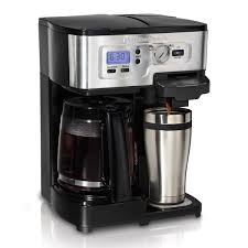 2 way coffee maker with 12 cup carafe