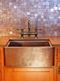 Copper Backsplash Kitchen Copper Tile Backsplash For Kitchen Home Design Ideas