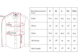 Size Guide Elom Doussey Tailoring