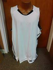adidas 4xlt. adidas mens basic athletic jeresy white w/black sizes 3x\u00264x tall brand new nwt! adidas 4xlt