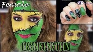 female frankenstein makeup tutorial b