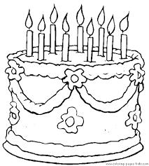 Birthday Cake Drawings Bahamasecoforumcom