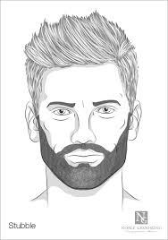Stubble Facial Hair Style stubble beard style diversos pinterest stubble beard beard 3096 by wearticles.com