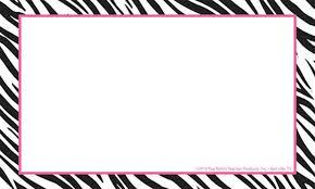 5x7 border template free zebra print border free download clip art free clip art