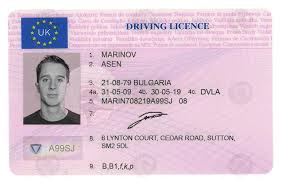 Card Maker License Virtual Fake - Uk Id Driver's