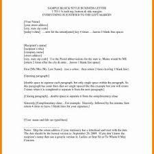 Standard Business Letter Format On Letterhead New Business Letter ...
