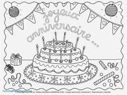 Shopkins Birthday Cake Coloring Page Big With No Candles Blank 5 Age