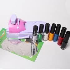 Diy Nail Art Varnish Color Printing Machine Kit ~ Diy nail art ...