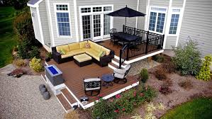 Bi Level Deck Designs Tiered Split Level Multi Level Deck Ideas Pictures