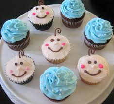 Cupcake Decorations For Baby Shower
