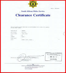 Employment Clearance Certificate Sample Dtk Templates