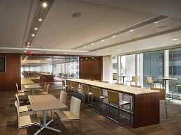 office dining room. Employee Dining Room - J.P. Morgan United States Office O