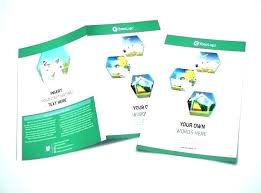 Leaflet On Word Tri Fold Leaflet Template Free