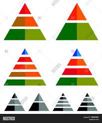 Pyramid Cone Vector Photo Free Trial Bigstock