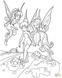 Teaching Tinkerbell coloring page | Free Printable Coloring Pages