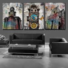 Modern Wall Paintings Living Room Online Buy Wholesale Paris Wall Art From China Paris Wall Art
