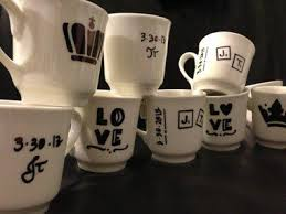 Cute funny diy coffee mug designs ideas try Crafts Sharpie Tea Cups Seventeen Magazine 30 Awesome Diy Projects That Youve Never Heard Of