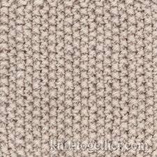 Knit Stitch Patterns Custom Knit Together Rice Moss Stitch Pattern With Needles Of Knits And