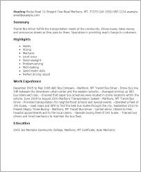 bus driver resume template   uhpy is resume in you professional transit bus driver templates showcase your talent