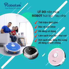 3+ mẫu robot hút bụi rẻ và mua robot hút bụi lau nhà ở đâu? Robotek