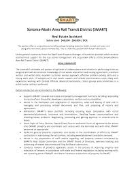 Real Estate Resume Templates Free Real Estate Resume For New Agents