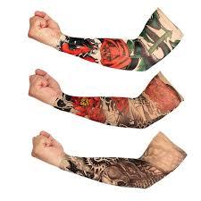 Aominuo Нейлон упругие Временные <b>татуировки</b> рукав образцов ...