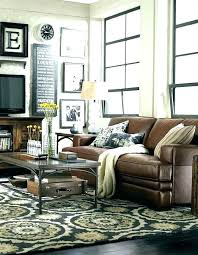 Living Room Brown Couch Mesmerizing Brown Couch Pillows Syuon