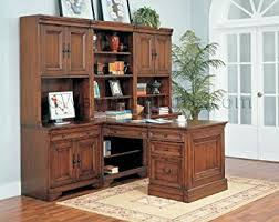 home office office furniture sets home. Warm Cherry Executive Modular Home Office Furniture Set Sets Amazon.com