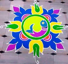 Diwali Simple Rangoli Chart In 2019 Diwali Decorations At