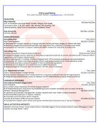 Sample Consultant Resume Template Mckinsey Example Oil Sevte