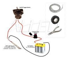 led strip light under bonnet car hoot_installation How To Wire Fog Lights To A Toggle Switch led strip light under bonnet car hoot wire fog lights with toggle switch