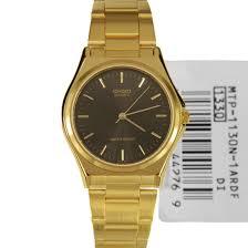 casio mens quartz gold plated watch mtp 1130n 1ardf casio mens quartz gold plated watch mtp 1130n 1a