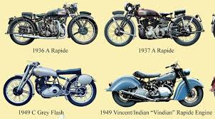 vincent motorcycle logo can anyone tell me the history of the hrd