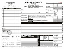service work orders template auto repair order form template archives chakrii