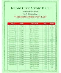 Free Printable Seating Chart Fascinating Radio City Music Hall Seating Chart PDF Free Download PRINTABLE