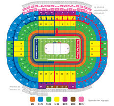 Detroit Red Wings Stadium Seating Chart Big House Seating Chart Winter Classic Detroit Red Wings