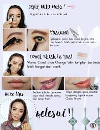 makeup natural dan simple di hari raya lebaran