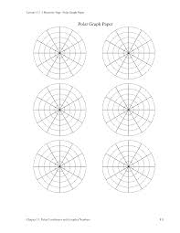 Free Polar Circle Graph Paper Templates At Allbusinesstemplates Com