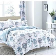 blue duvet set fl blue duvet set blue bedding sets with matching curtains