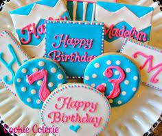 91 Best Birthday Party Cookies Images Decorated Cookies Cookie