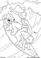 Lilo And Stitch Coloring Pages On Coloring Bookinfo