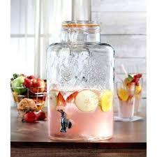 glass drink dispensers vineyard fruit beverage dispenser 3 gallon glass drink dispenser with stand glass drink dispensers