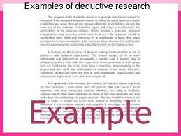 examples of deductive research term paper academic writing service examples of deductive research