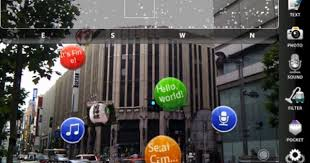 Sekai Camera is exciting app! http://www.tonchidot.com/en/services ...