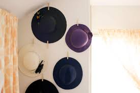 Quite simple, really. I used this method quite often when I lived in a dorm  room with cinder block walls. It's a great way to hang lightweight things,  ...