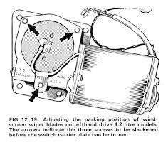 wiper motor switch diagram series 2 2 2 the e type forum this motor has three wires the earlier dl3 motor has five wires as has the later 15w round motor the dl3a motor was only fitted to lhd 1968 cars