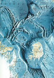 Ocean Charts California Relief Map Of The Ocean Floor Around Iceland Earth Sciences