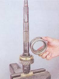 ремонт коробки передач ваз разборка и сборка кпп Снимаем муфту синхронизатора синхронизатор кпп ваз 2107