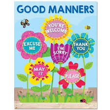 Garden Of Good Manners Chart Classroom Displays Classroom