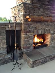 modest ideas outdoor fireplace tools hand forged 4 piece outdoor fireplace tool set